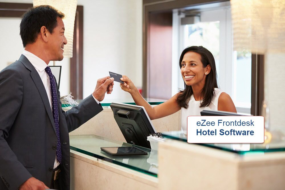 eZee FrontDesk, a hotel management software